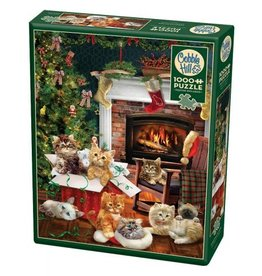 Cobble Hill Christmas Kittens - 1000 Piece Puzzle