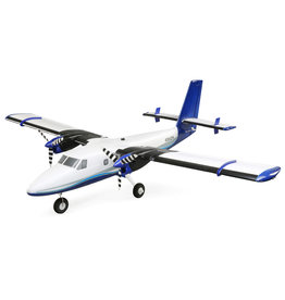 E-flite Twin Otter 1.2m BNF Basic with AS3X and SAFE - Includes Floats