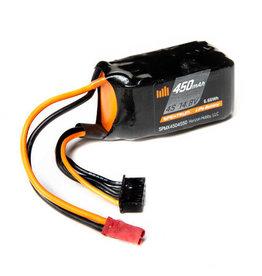 Spektrum SPMX4504S50 - 14.8V 450mAh 4S 50C LiPo Battery: JST