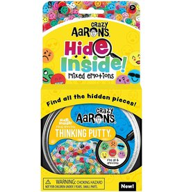 Crazy Aarons 3.2oz - Hide Inside Mixed Emotions Thinking Putty