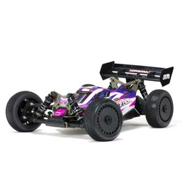 Arrma 1/8 TLR Tuned TYPHON 4WD Roller Buggy - Pink/Purple