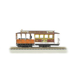 Bachmann 60534 - HO Painted & Unlettered Cable Car Electric Locomotive #18