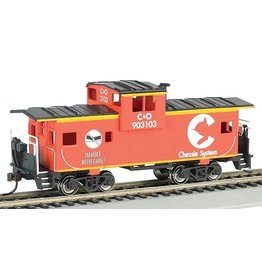 Bachmann 17726 - HO Chessie System 36' Wide-Vision Caboose