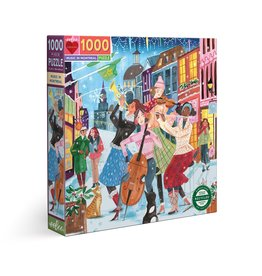Eeboo Music In Montreal - 1000 Piece Puzzle