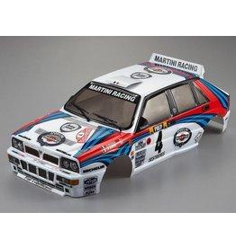 Killerbody 48248 - 1/10 Lancia Delta HF Integrale Pre-Painted Rally Body (Martini Racing)