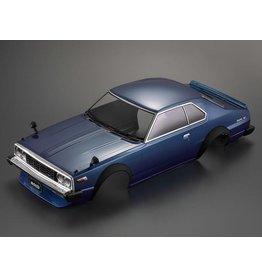 Killerbody 48700 - 1/10 1977 Skyline 2000 GT-ES Pre-Painted Touring Car Body (Blue)