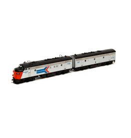 Athearn G22580 - HO FP7A/F7B, Amtrak #113A/#161B