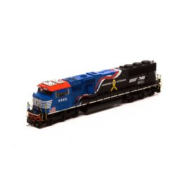 Athearn G65254 - HO SD60E w/DCC & Sound, NS/Honor Our Veterans #6920