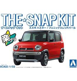 Aoshima 05414 - 1/32 Suzuki Hustler - Phoenix Red Pearl