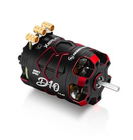 HobbyWing 30401138 - Xerun D10 Brushless Drift Motor - 13.5T, 2900kv, Passion Edition (Red)
