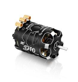 HobbyWing 30401137 - Xerun D10 Brushless Drift Motor - 13.5T, 2900kv, Stealth Edition (Black)