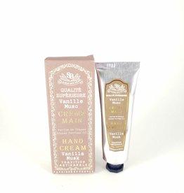 Vanilla Musk 30ml Hand Cream