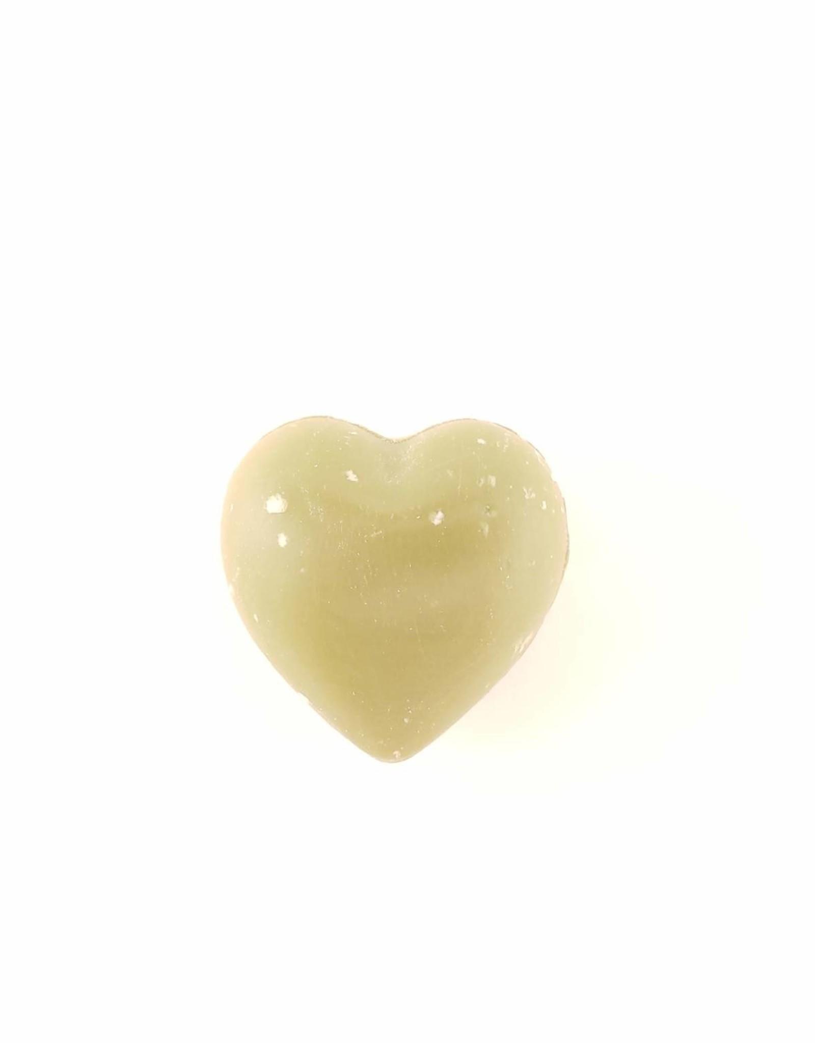 Verbena 25g Heart Soap