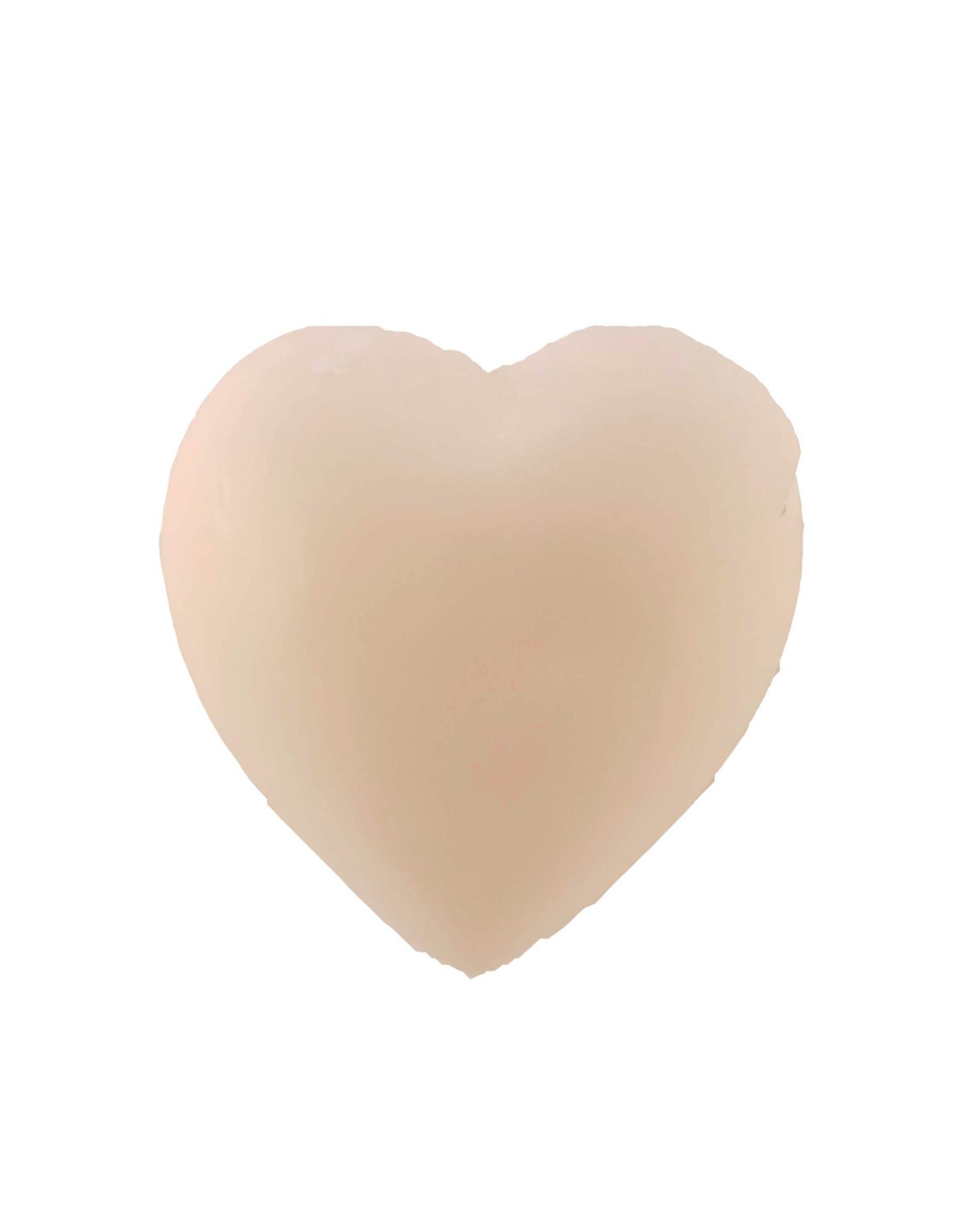 Milk 100g Heart Soap