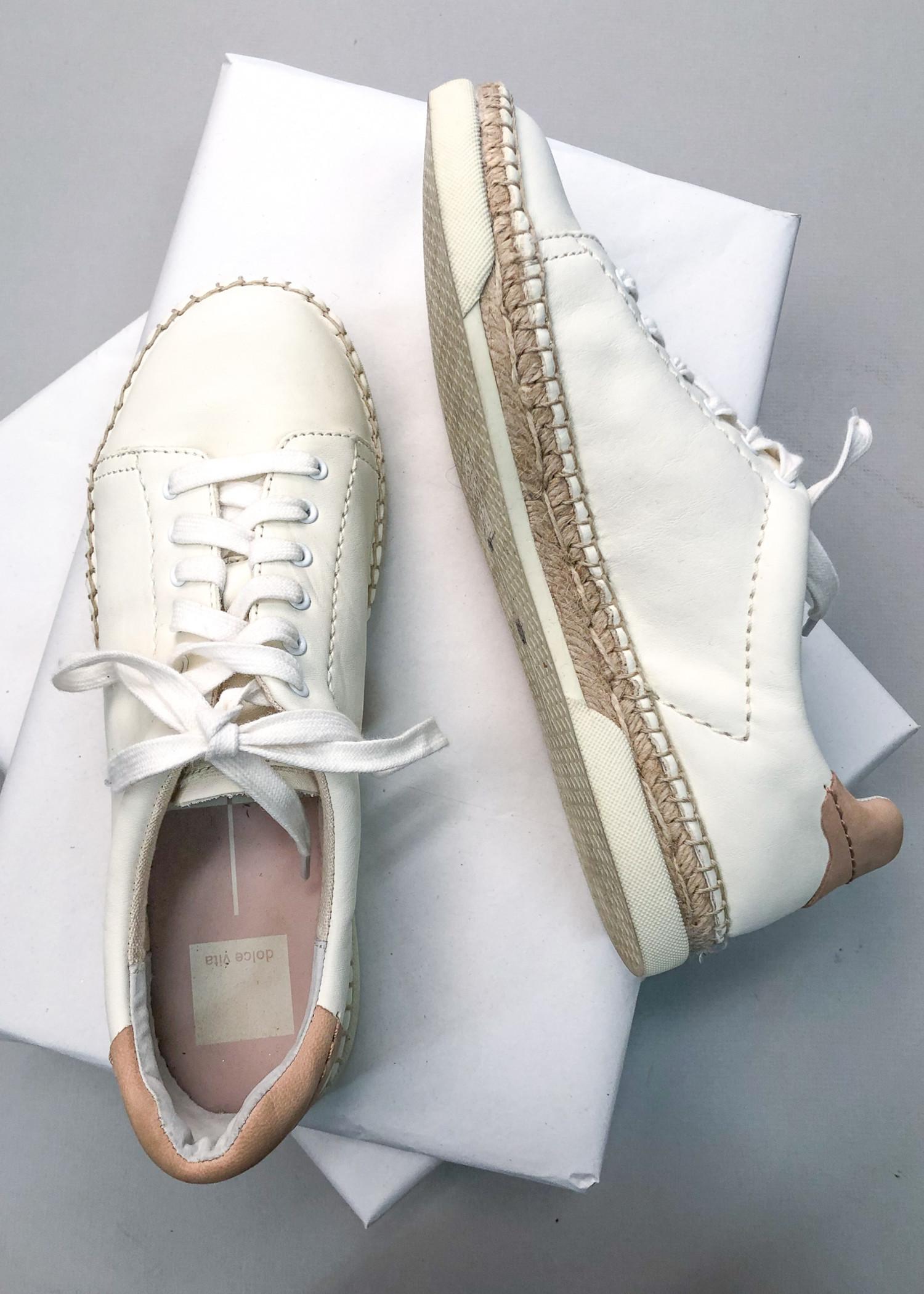Dolce Vita Madox Sneaker - White
