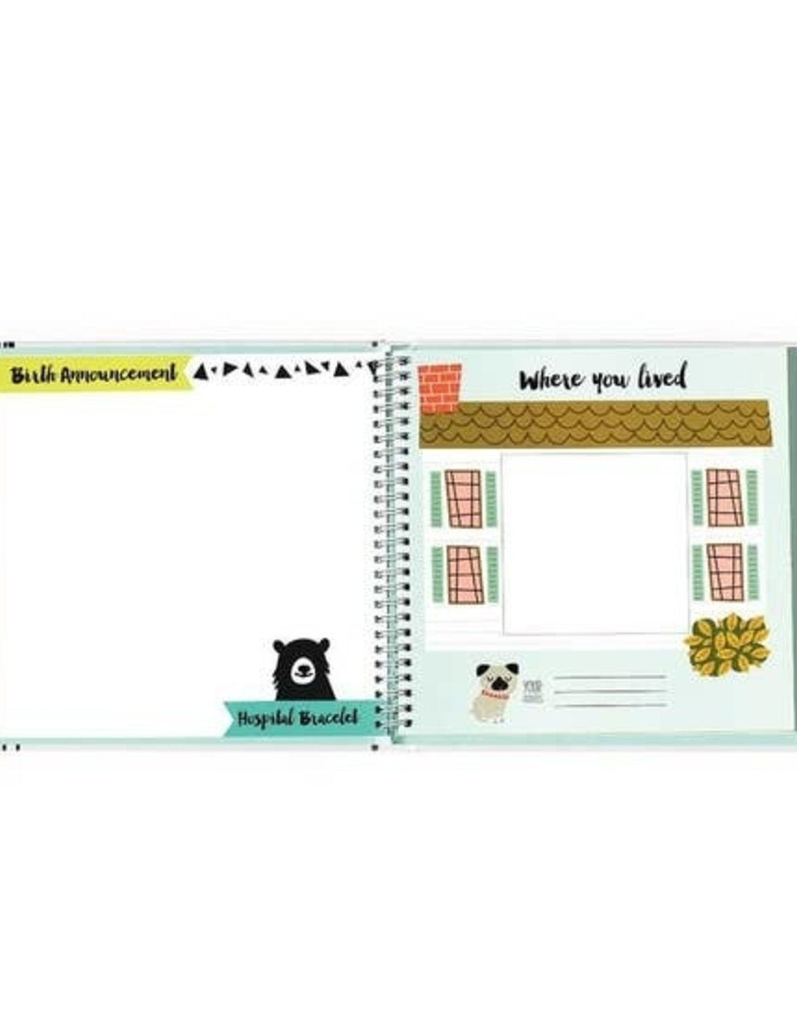 Lucy Darling Lucy Darling Memory Book - Little Animal Lover