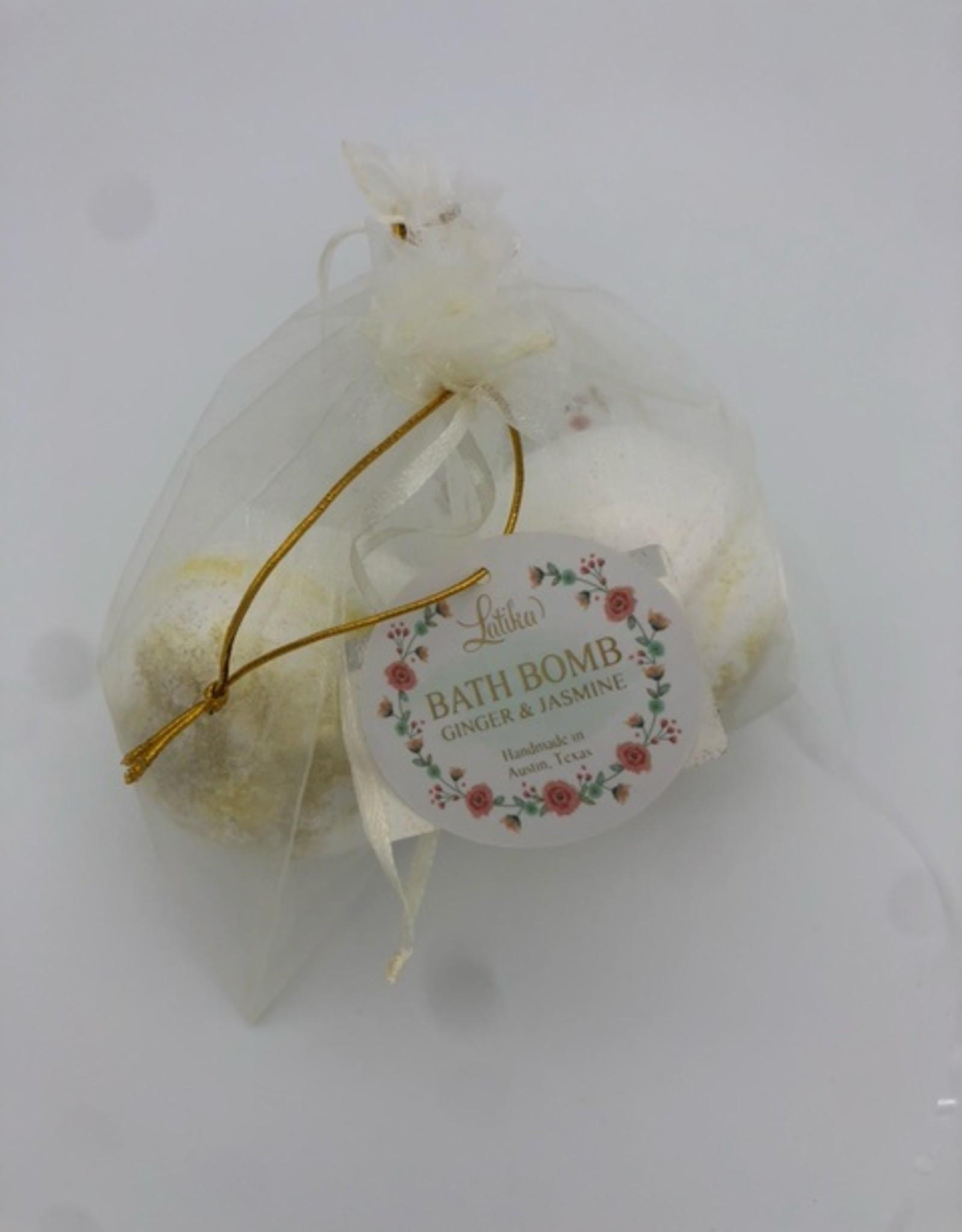 Latika Latika Beauty Bath Bomb - Ginger & Jasmine