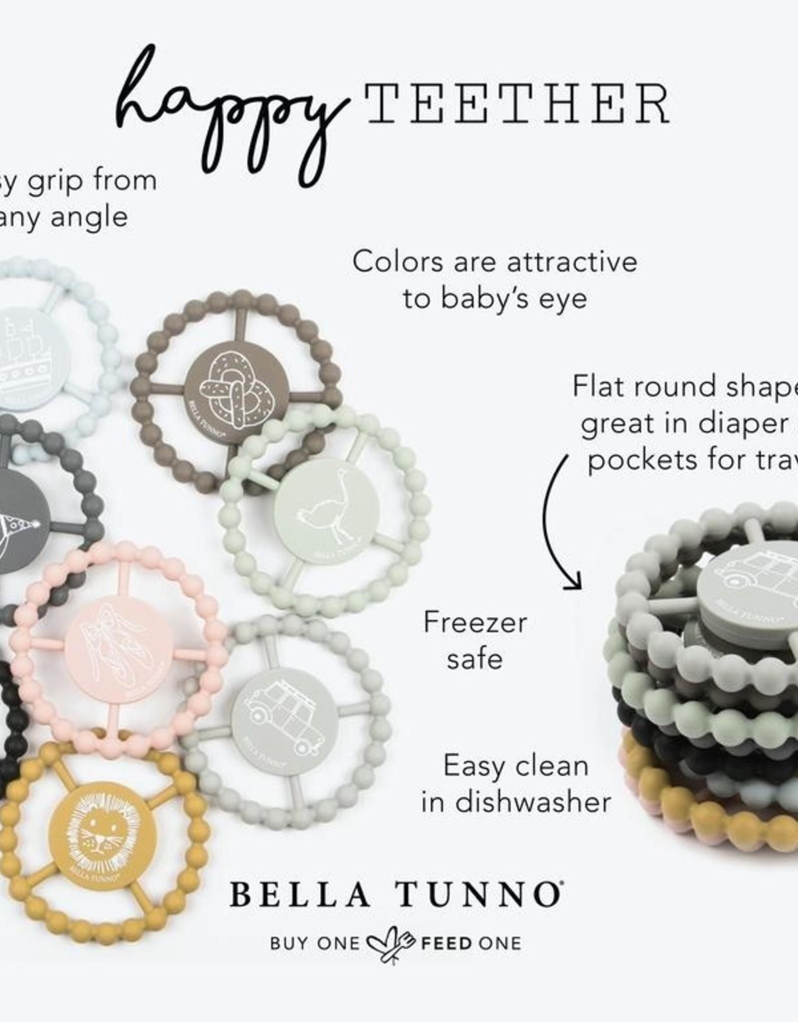 Bella Tunno Bella Tunno Happy Teether - Black & White Rainbow