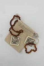 Canyon Leaf Canyon Leaf - Polished Cognac Amber Bracelet