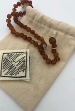 Canyon Leaf Canyon Leaf - Polished Cognac Amber Necklace