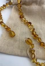 Canyon Leaf Canyon Leaf - Polished Honey Amber Necklace