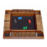 Wood Expressions 4-player Shut the Box