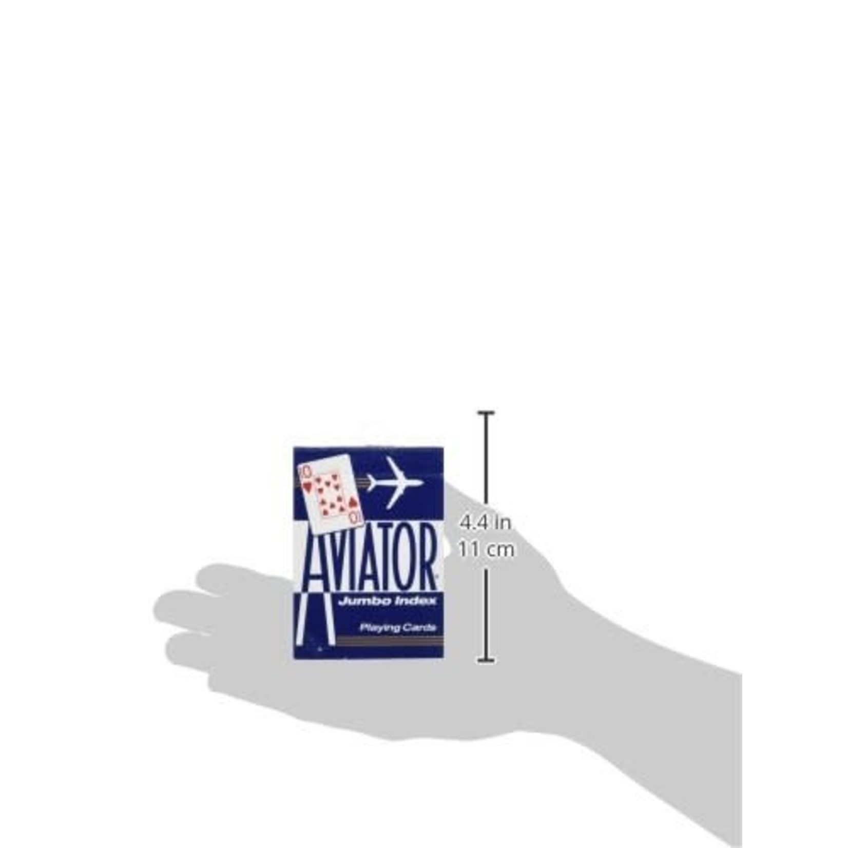 The United States Playing Card Company Aviator Jumbo Index