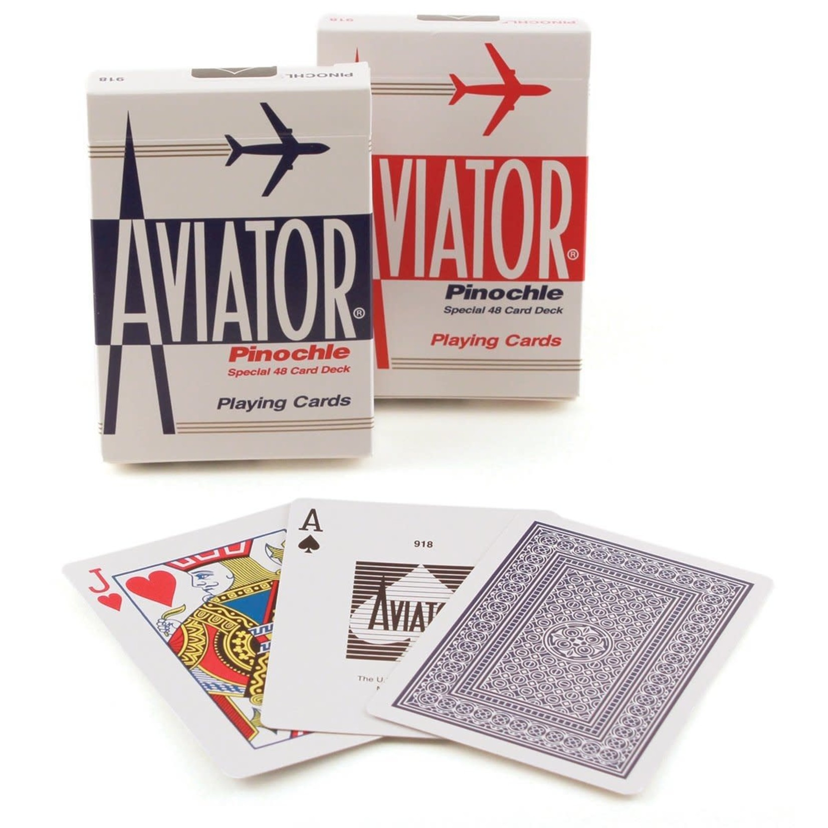 The United States Playing Card Company Aviator Pinochle