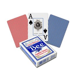 The United States Playing Card Company Bee Poker Diamond Back Jumbo Index