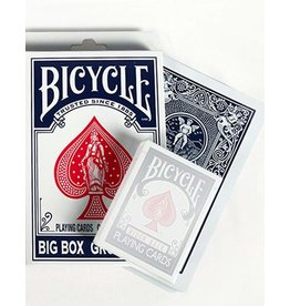 The United States Playing Card Company Bicycle Big Box Blue