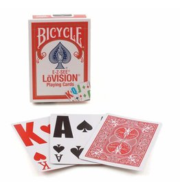 The United States Playing Card Company Bicycle EZ See Lo-Vision