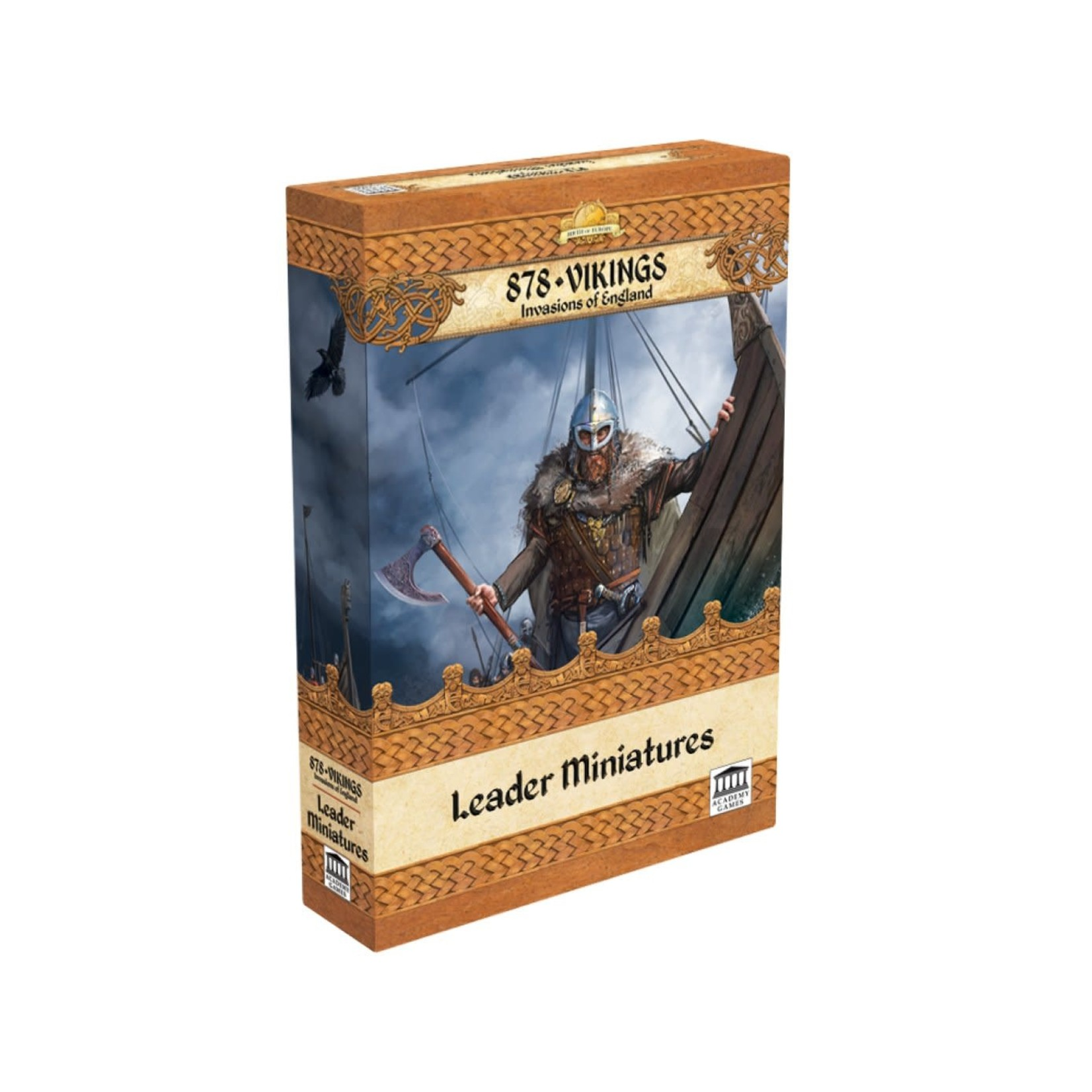 Academy Games 878 Vikings: Leader Miniatures