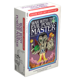 ANA ZMan Games War With The Evil Power Master Choose Your Own Adventure
