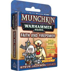 Steve Jackson Games Faith and Firepower Munchkin Warhammer 40K