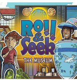 Flying Meeple Roll & Seek The Museum
