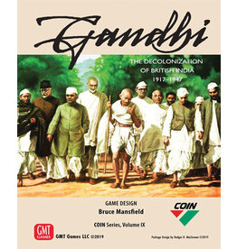 GMT Gandhi The Decolonization of British India 1917-1947