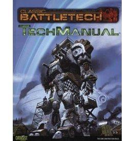 Catalyst Game Labs Battletech: Tech Manual