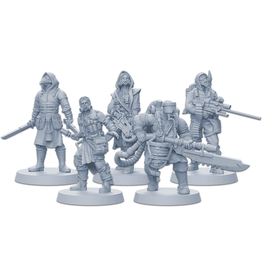 ANA CMON Zombicide: Invader Plague Gang Survivors Pack