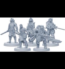 CMON Zombicide: Invader Plague Gang Survivors Pack