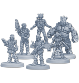 ANA CMON Zombicide: Invader Orphans Gang Survivors Pack