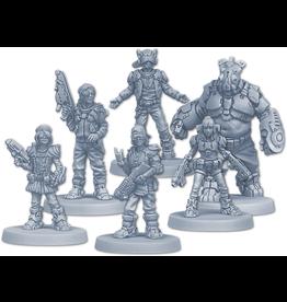 CMON Zombicide: Invader Orphans Gang Survivors Pack
