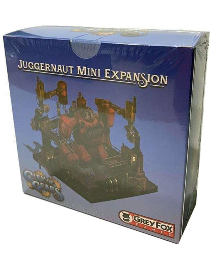 Grey Fox Games The Juggernaut City of Gears Founders Edition KS