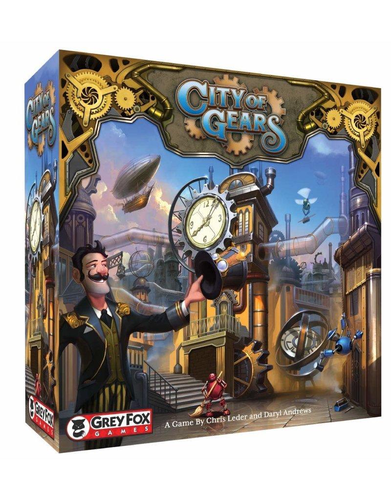 Grey Fox Games City of Gears Founders Edition KS