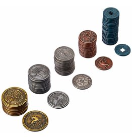 Greater Than Games Scythe Metal Coins