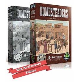Tasty Minstrel Games Homesteaders Game 10th Anniversary KS