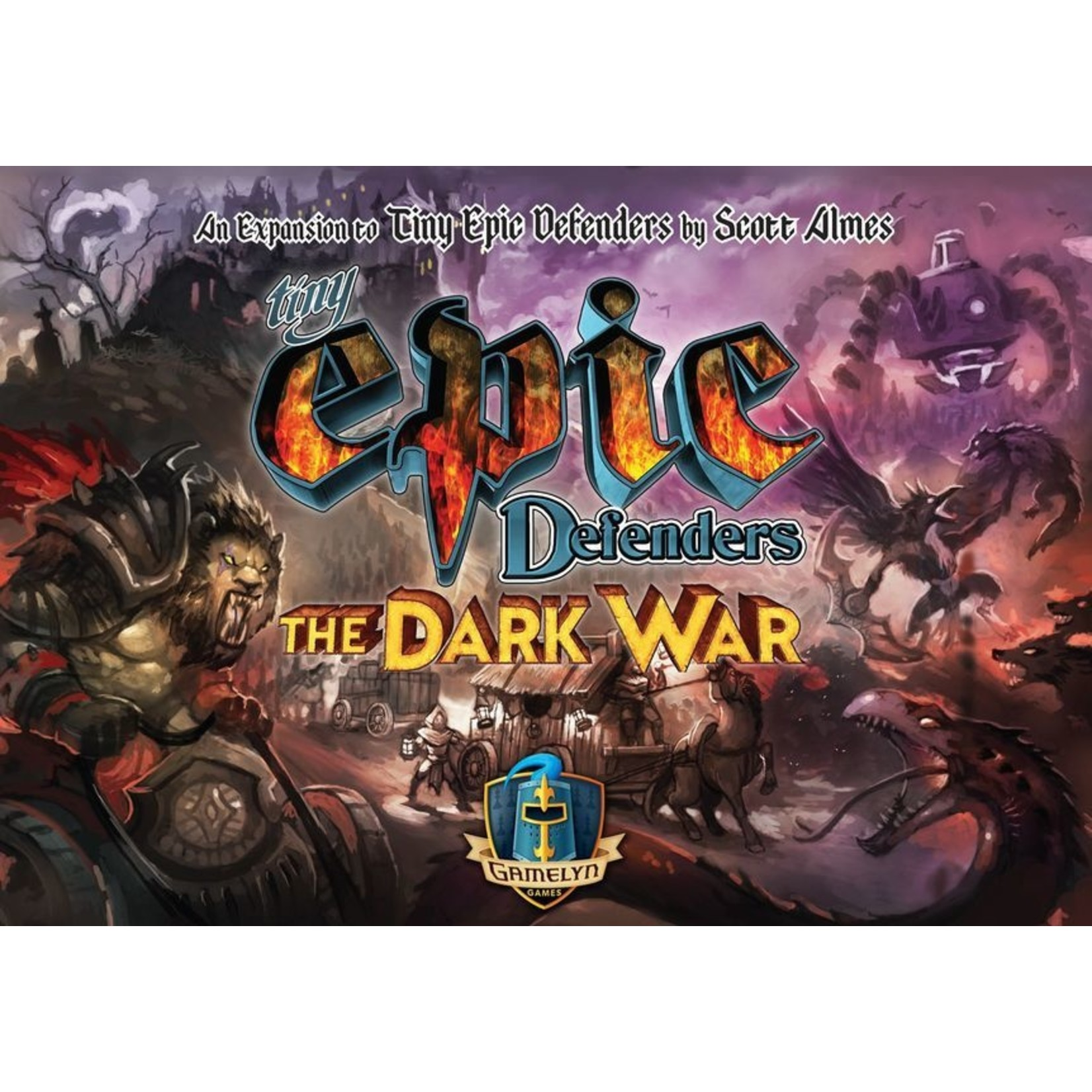 GameSalute The Dark War Tiny Epic Defenders