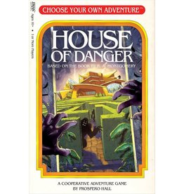 ANA ZMan Games Choose Your Own Adventure House of Danger