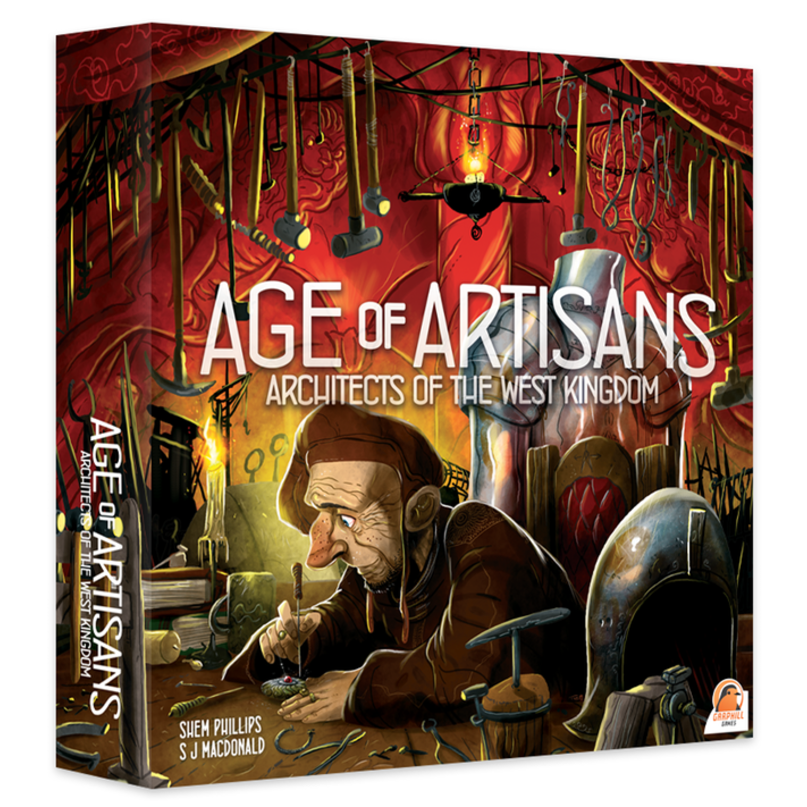 Renegade Game Studios Architects of the West Kingdom Age of Artisans Expansion