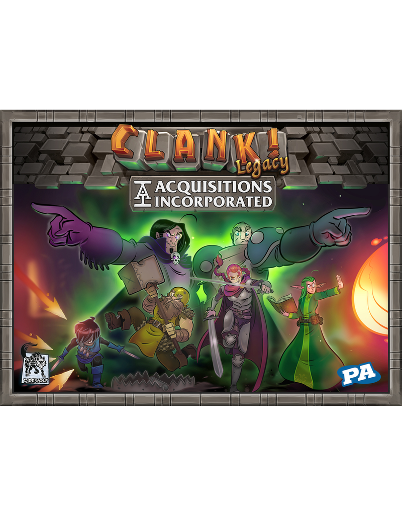 Renegade Game Studios Clank! Legacy: Acquisitions Incorporated