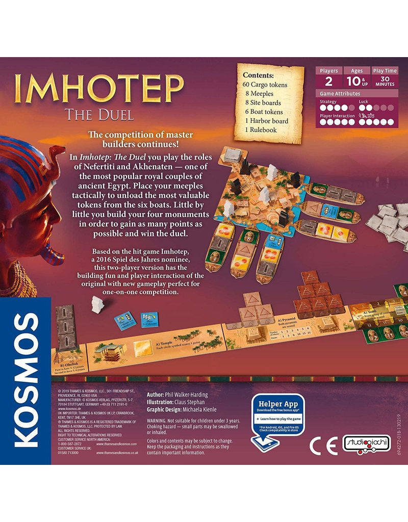 Thames & Kosmos Imhotep The Duel